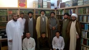 دیدار با طلاب خوزستانی